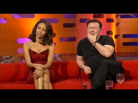 Graham Norton has Ricky Gervais and Thandie Newton read the script from Nalin' Palin
