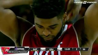 NCAAB 2016 New Jersey Tech at Utah State 2nd Half