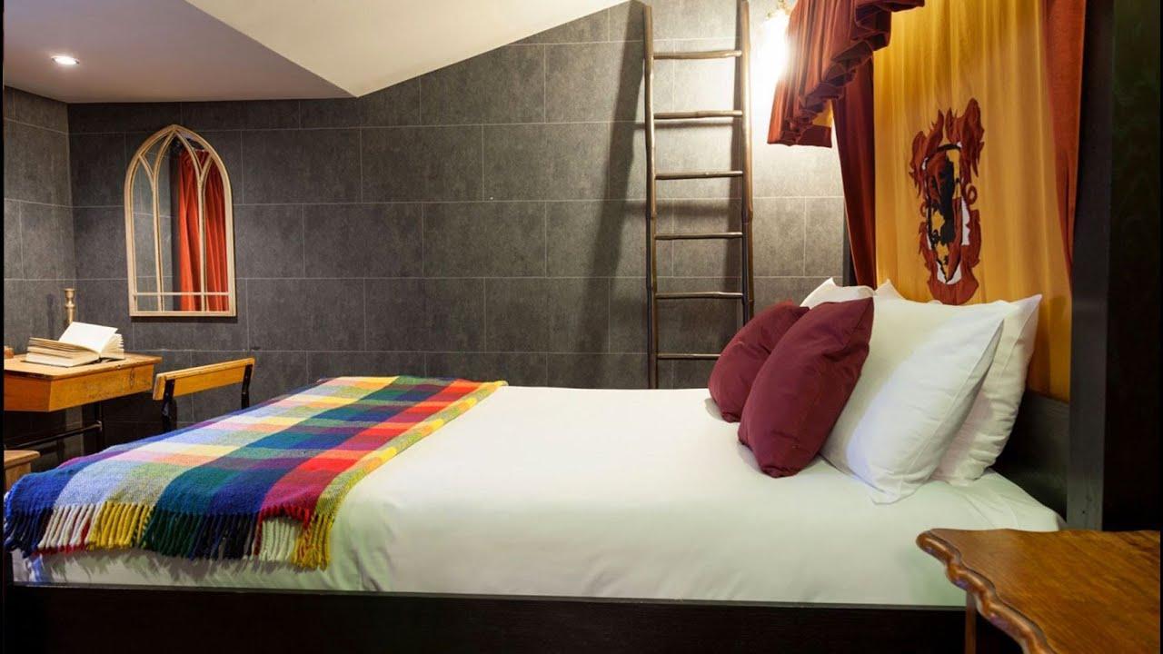 Harry potter ya tiene sus habitaciones en un hotel de for Harry potter cuartos decoracion