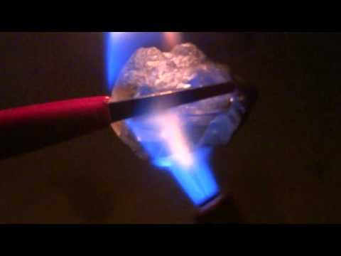 Термолюминесценция флюорита / Fluorite Thermoluminescence