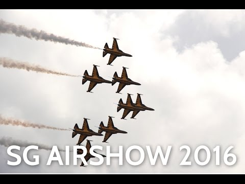 Singapore Airshow 2016 Public Day 1 Aerial Display Highlights