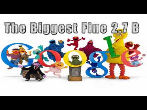 2.7 Billions US Dollars fine on Google | 2.4 billion euros | Biggest fine ever