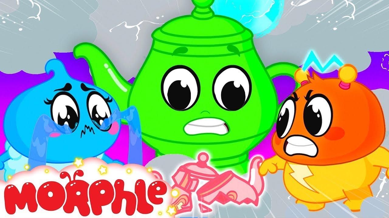 MORPHLE - Tea Party | @Morphle vs Orphle - Kids Cartoons