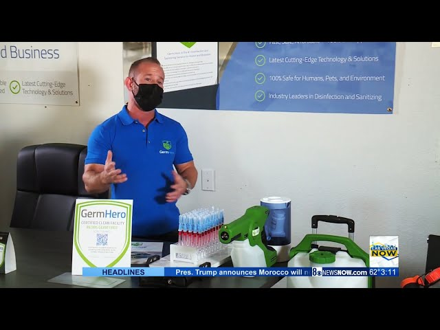 Germ Hero   Fast, Safe, Affordable Disinfection Service for Home and Business