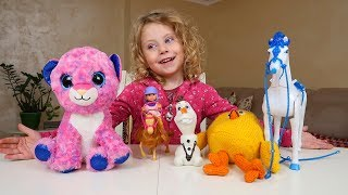 Ghici Jucaria Challenge   Melissa primeste o JUCARIE noua   Video pentru Copii