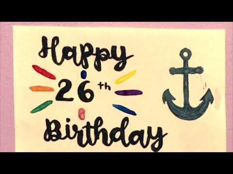 Sam Smith 26th Birthday Video