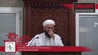 Aylık Sohbet 2 Kasım 2017, Ahmed Emin Hoca Efendi, Mahmud Efendi Külliyesi
