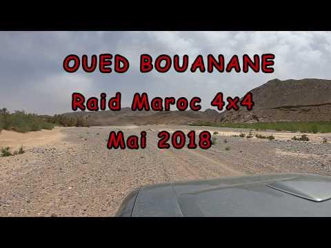 raid 4x4 marocco désert tours - oued bouanane maroc - off road car -gopro 1080 hd