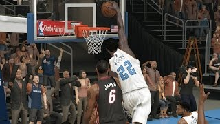 Andrew Wiggins Playoffs Round 3 Game 3 vs. Heat - NBA 2K14 MyCareer Andrew Wiggins