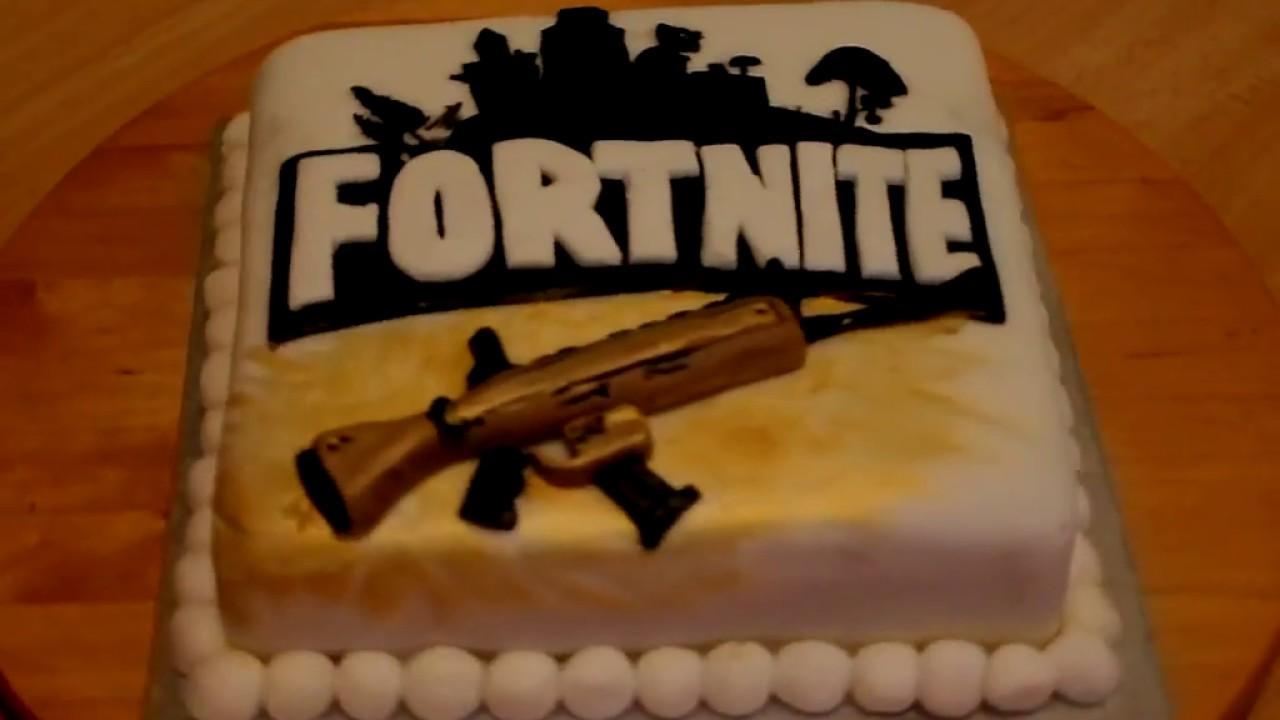 Fortnite Cake - YouTube
