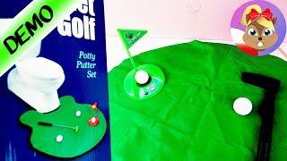 Gra w golfa na toalecie?! test na żywo
