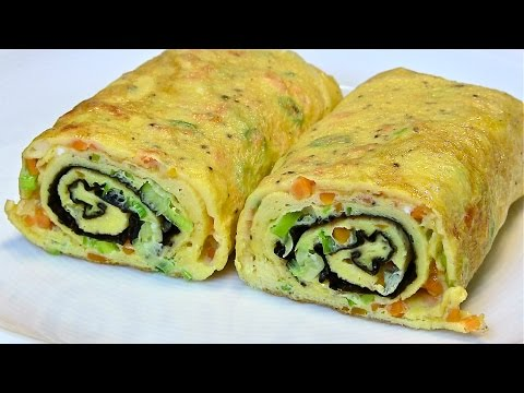 Thumbnail: Best Egg Roll Omelette-Tamagoyaki-Japanese Omelette recipe from Kitchen Basics
