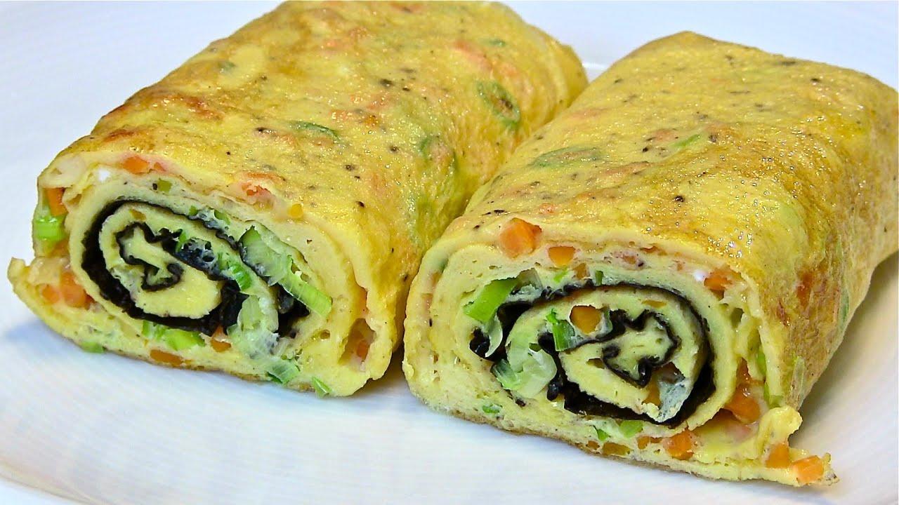Best Egg Roll Omelette-Tamagoyaki-Japanese Omelette roll ...
