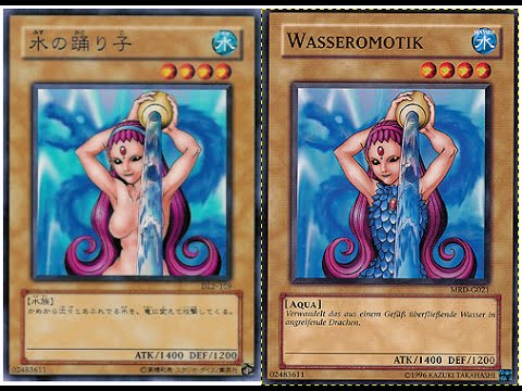 nude girls on yu gi oh cards