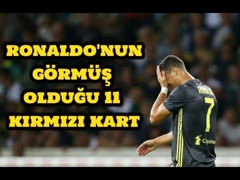 RONALDO'NUN GÖRMÜŞ OLDUĞU 11 KIRMIZI KART-Cristiano Ronaldo All 11 Red Cards In Career-Full Video