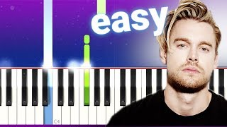 Chord Overstreet - Hold On (100% EASY PIANO TUTORIAL)