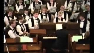 Kon.Fanfarekorps Wilhelmina & chr.mannenkoor de Lofzang - 1990