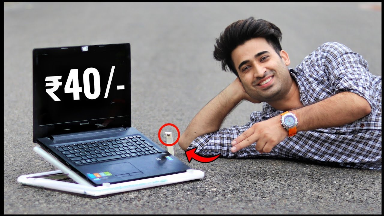 How To Make Best Laptop Stand || Laptop Stand With Cooling Fan || Laptop || Hindi