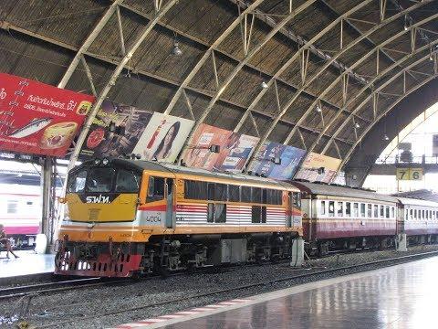 Bangkok Hua Lamphong Station Thailand กรุงเทพสถานีรถไฟหัวลำโพง