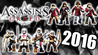 aSSASSIN'S CREED MEGA BLOKS 2016 FALL SET IMAGES (HD)!!!