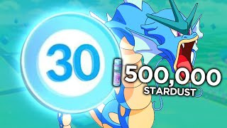 Pokemon GO - LEVEL 30 ACCOUNT WITH 500,000 STARDUST! (Pokemon GO Gameplay)