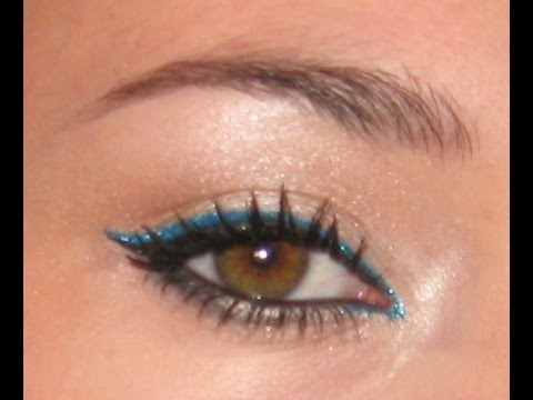 Tutoriel maquillage coloré (printemps été)