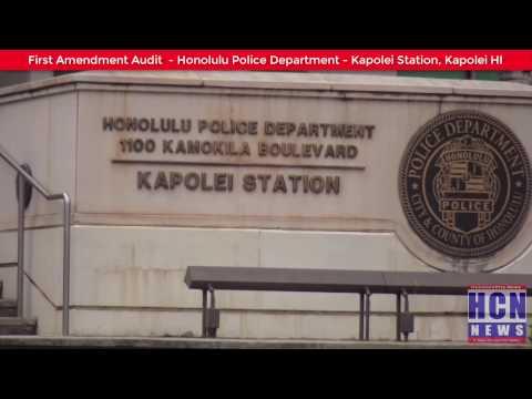 HPD Kapolei Station - First Amendment Audit