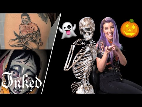 The Scariest Tattoos We've Ever Seen | Tattoo Artists React