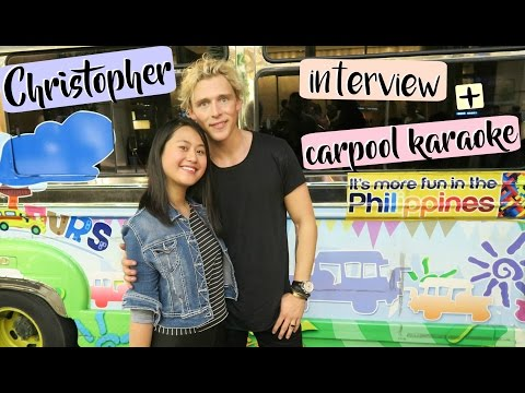 Quick Interview with Christopher + Carpool Karaoke | Lexy Rodriguez