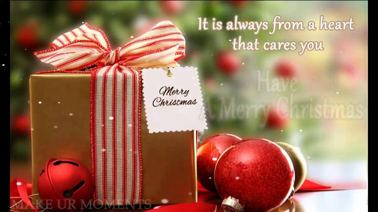 Merry Christmas Greetings Youtube