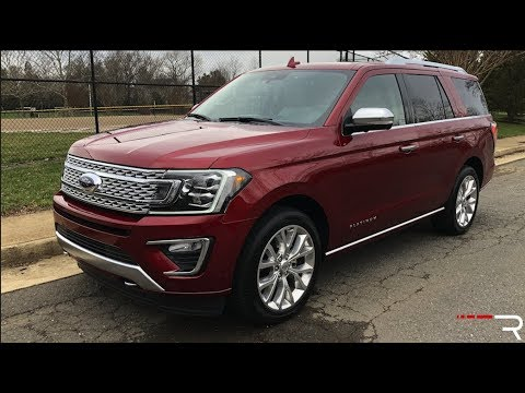 2018 Ford Expedition Is Heavy On Aluminum And Tech Video Roadshow