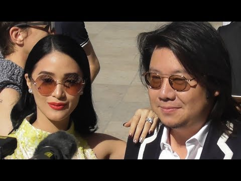 VIDEO Heart Evangelista @ Paris Fashion Week 2 july 2018 show Schiaparelli / juillet #PFW