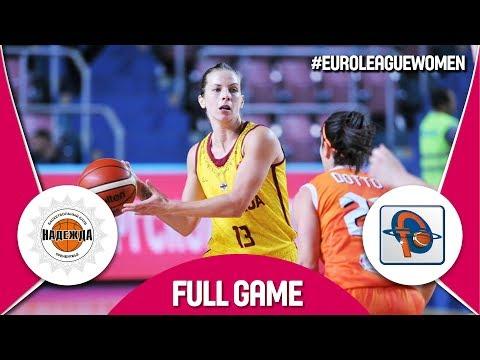 Nadezhda (RUS) v Famila Schio (ITA) - Full Game - EuroLeague Women 2017-18