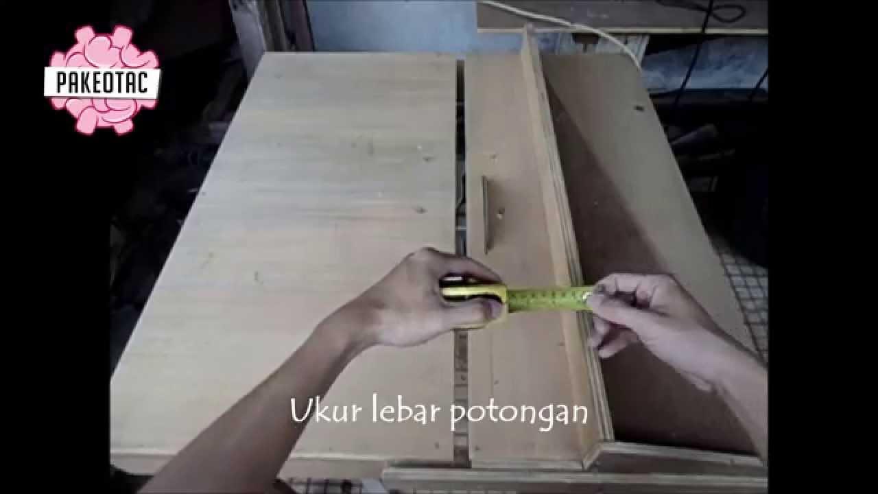 cara menggunakan table sawmeja potong  YouTube
