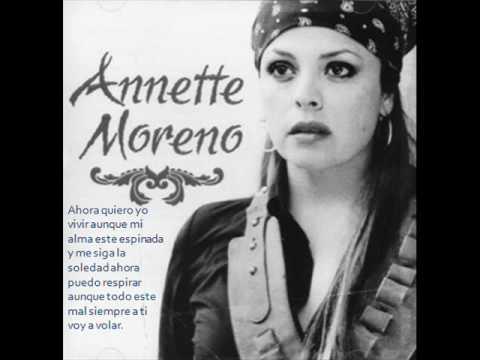 Ahora quiero yo vivir annette moreno letra youtube for Annette moreno y jardin