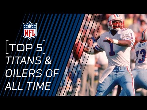 Top 5 Oilers/Titans of All Time | NFL