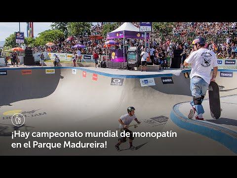 ¡Hay campeonato mundial de monopatín en el Parque Madureira! l  Ciudad Olímpica