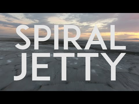 The Spiral Jetty @ The Great Salt Lake