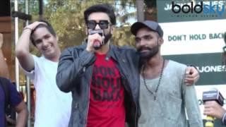 Ranveer Singh raps for 'Don't hold back' campaign of Jack & Jones; Watch Video | Boldsky