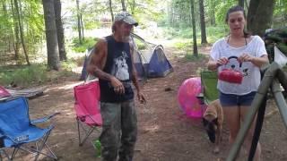 camping at caseys