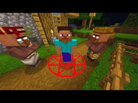 These Minecraft villagers are trying to kill me.. (Terrified)
