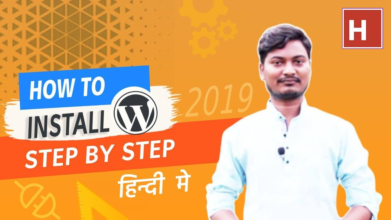 how to install WordPress step by step in Hindi from start to finish (no step skip)