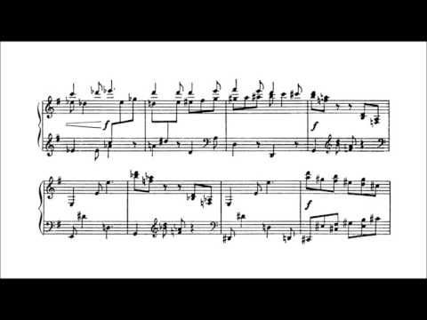 Sergei Prokofiev - 4 Pieces Op. 4 (audio + sheet music)