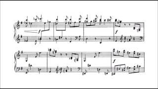 Sergei Prokofiev - 4 Pieces Op. 4 (audio + sheet music)