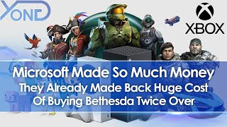 Microsoft Already Made Back Cost Of Buying Bethesda Twice Over, Xbox To Allegedly Buy More Studios