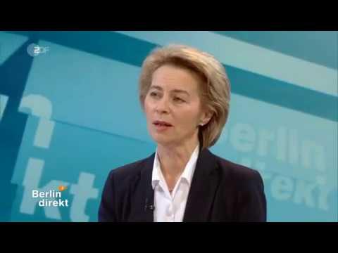 Bettina Schausten im Interview mit Ursula von der Leyen, CDU zu Europa und GroKo-Gesprächen