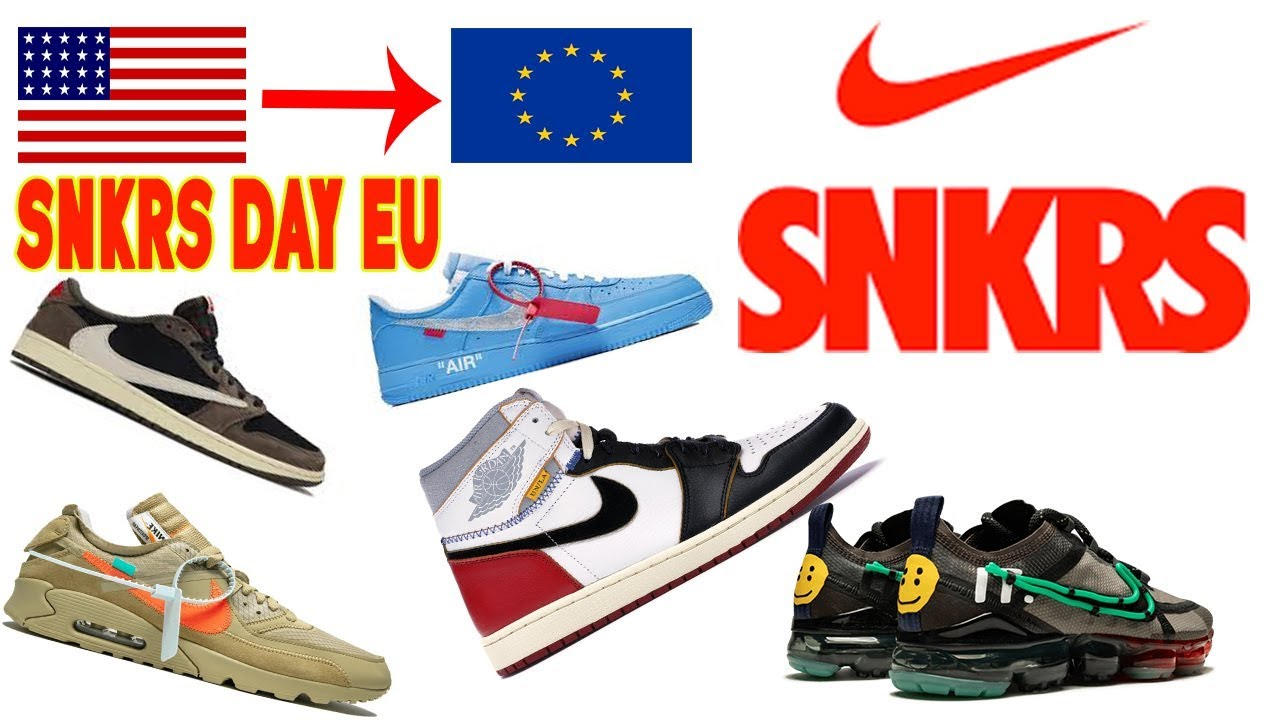 SNKRS Day EU Guide!! (How to cop from