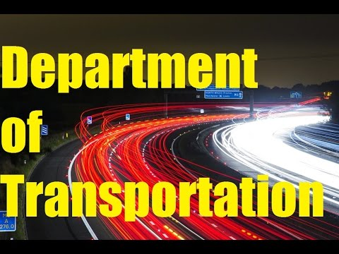 Top SHOCKING Department of Transportation Facts 2017. USDOT Facts and History TheCoolFactShow EP65