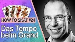 Skat spielen #24: Das Tempo beim Grand (mit Untertiteln / with English subtitles)
