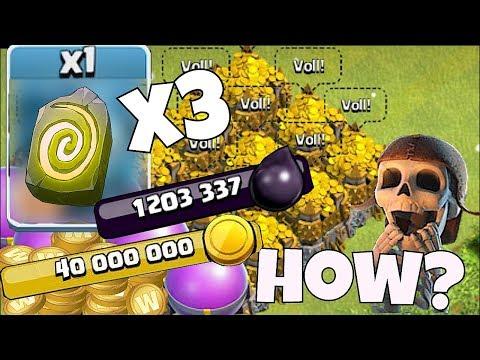 "100$ w/ 1 million dark elixir!! ""Clash Of Clans"" MAXING My BASE!!"